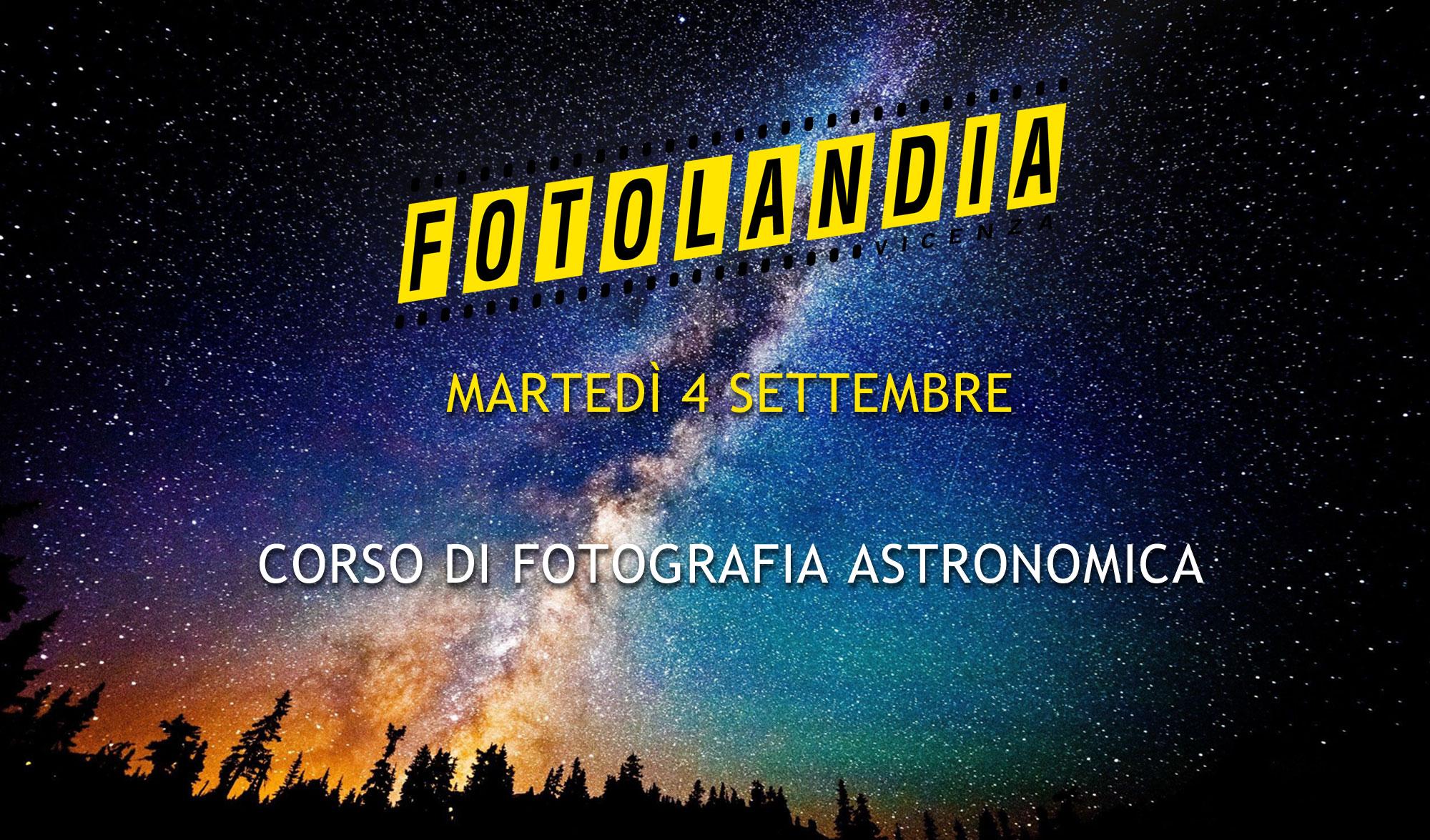 Settembre 2018 Corso Di Fotografia Astronomica Fotolandia