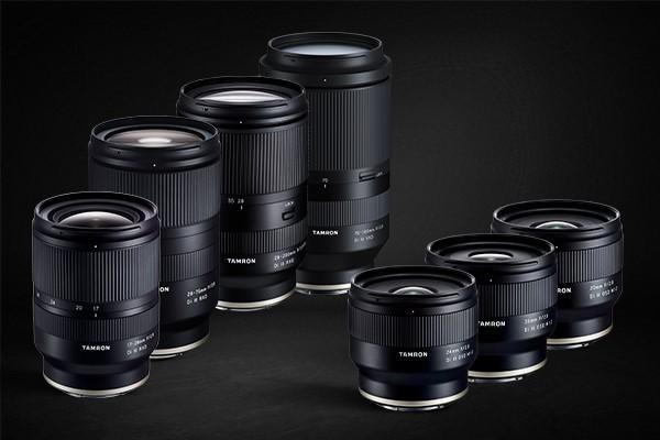 Obiettivi Tamron per fotocamere Sony E-Mount