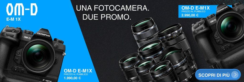 Olympus, una fotocamera due promozioni