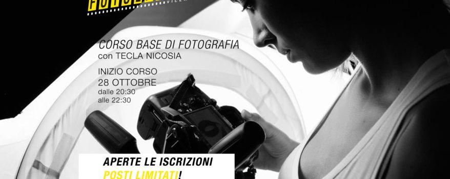 """Corso """"Base"""" di fotografia con inizio il 28 OTTOBRE"""