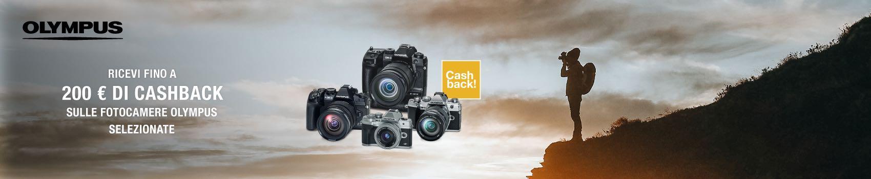 Olympus: nuovo Cashback OM-D