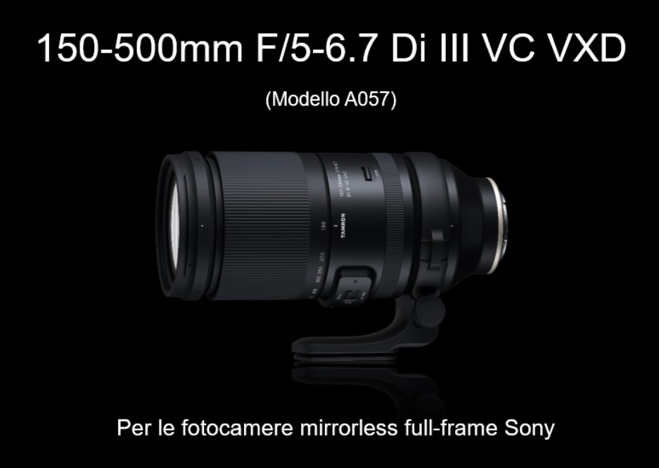 Tamron lancia due nuovi obiettivi per Sony E-Mount