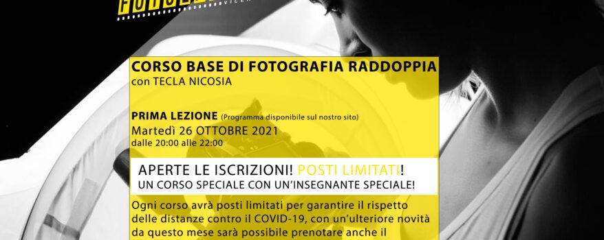 """Corso """"Base di fotografia"""" OTTOBRE 2021"""